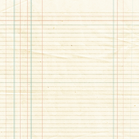 Blank yellow lined paper sheet background or textured  photo