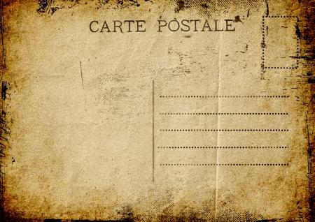 Grunge postcard