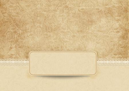 lace background: Elegant vintage background with lace