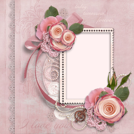 gorgeous card for Valentine s Day Imagens