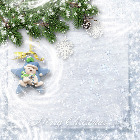 Christmas sweet card for kids photo