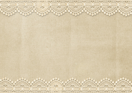 soiled: Vintage background with gorgeous lace