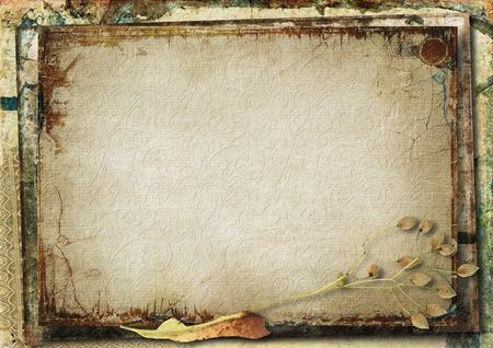 photoalbum: Grunge gorgeous background Stock Photo