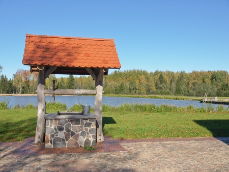 old water well Stock Photo - 10780411