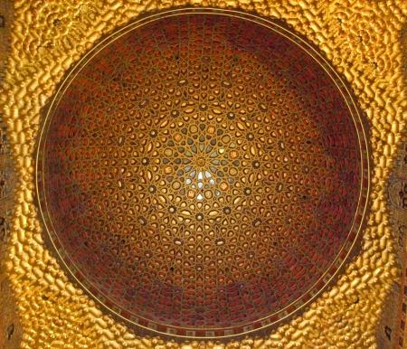 alcazar: ceiling decor in Real Alcazar