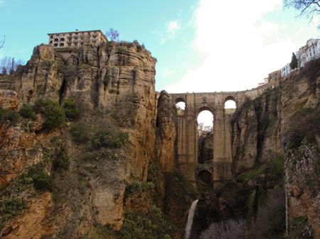 nuevo: The Puente Nuevo In Ronda Stock Photo