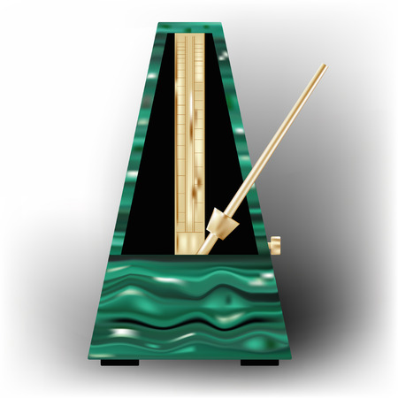 metronome musical instrument equipment isolated