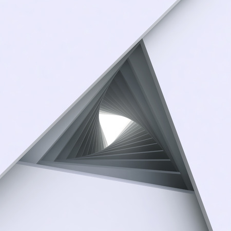 arquitectura abstracta: 3d Fondo de arquitectura abstracta Foto de archivo