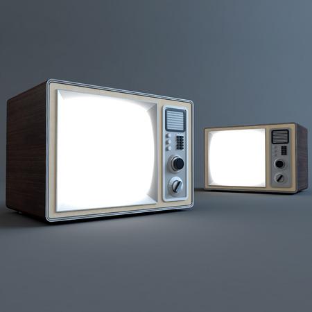 retro tv: Old retro tv