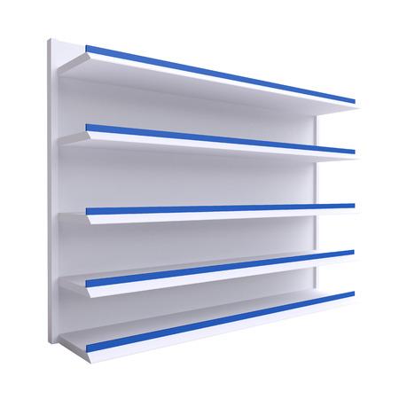 Empty shelves photo