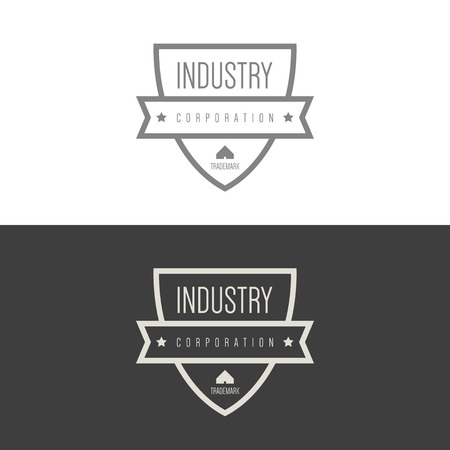 construction companies: Logo inspiration for construction companies, real estate agencies or architectural companies. Vector Illustration, graphic elements editable for design.