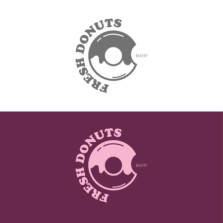 Logo inspiration for shops, companies, advertising or other business. Vector