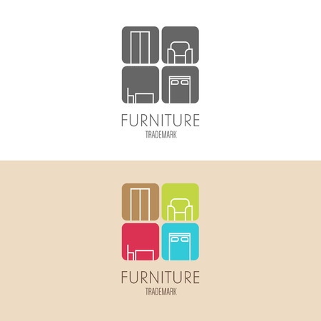 label inspiration with furniture