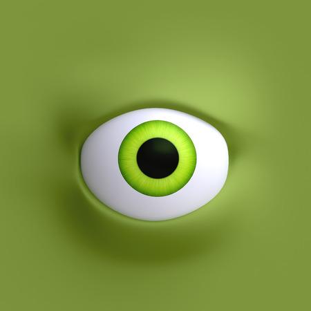 Cartoon ogen element gezicht voor karakter. Stockfoto - 40901556