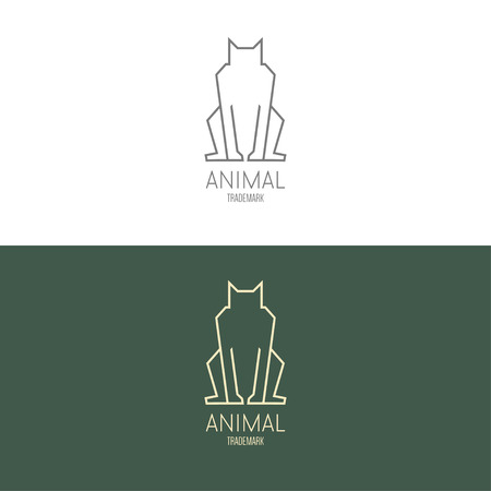 inspiratie: Logo inspiration for shops, companies, advertising  with dog