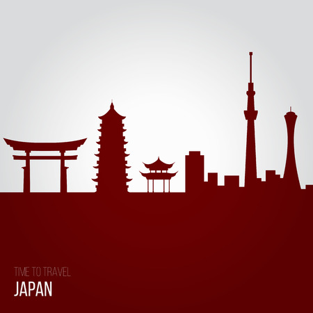 japan sky: Creative design inspiration or ideas for Japan.