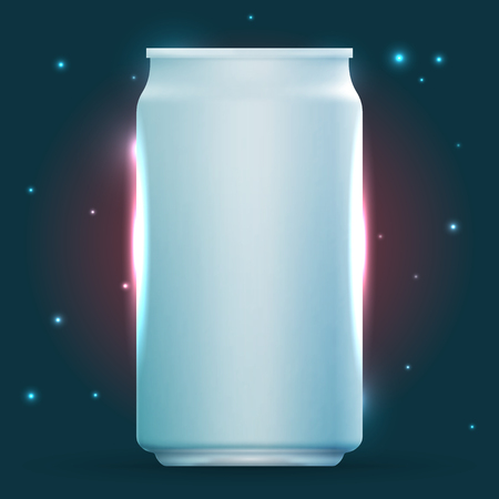 ml: Template of can for advertising or other business