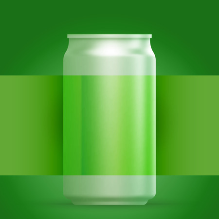 steel bar: Abstract background or template with metal aluminum beverage drink and label.