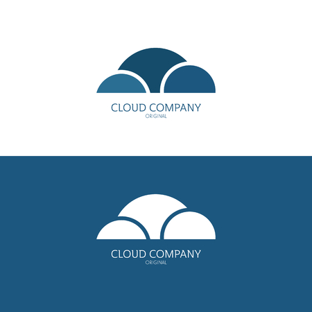 lments graphiques: Vector Illustration, graphic elements editable for design with clouds.