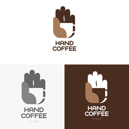 espresso: Logo inspiration for shops, companies, advertising or other business with coffee. Vector Illustration, graphic elements editable for design. Illustration