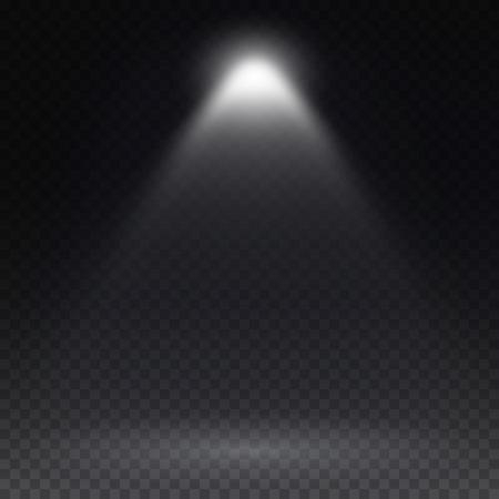 spotlight: Vector spotlight. Light effect.