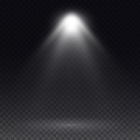 effect: Vector spotlight. Light effect.