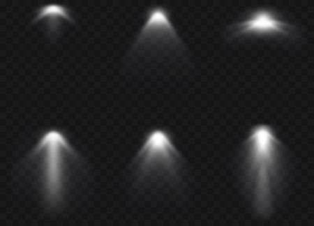 ベクトルのスポット ライトです。光の効果。