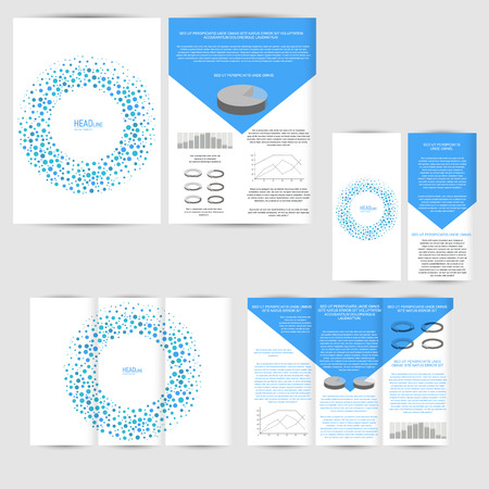 maketing: Set of design template with flyer, poster, brochure. Mock up for advertising, corporate identity, business, and other printing products.