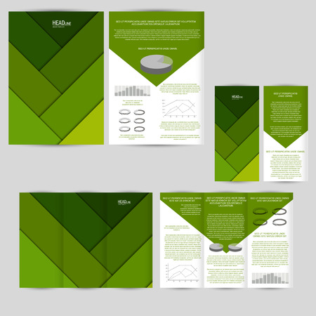 advertising material: Set of design template with flyer, poster, brochure. Mock up for advertising, corporate identity, business, and other printing products. Material design.