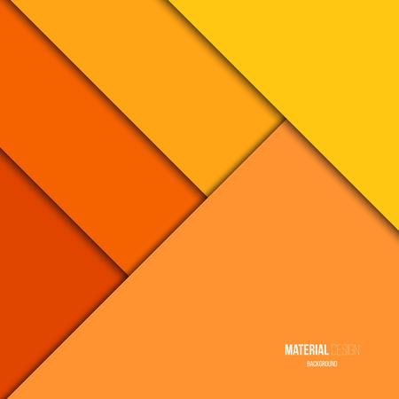 Illustratie van ongewone moderne materiaal ontwerp vector achtergrond Stock Illustratie