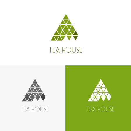 inspiration for shops, companies, advertising or other business with tea. Vector Illustration, graphic elements editable for design.
