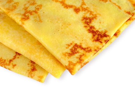 Pancakes background for your text Stock Photo - 17543168