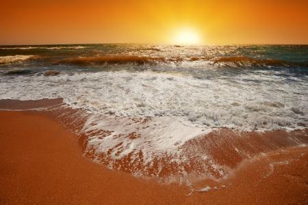 viewfinderchallenge3: Magic orange sunset over sea