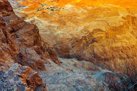 masada: View of the Judean Desert from Masada