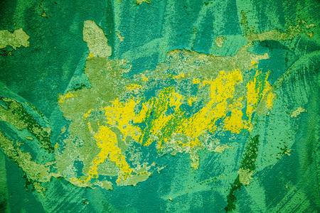 yellow  green: Grunge background