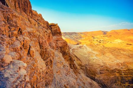 masada: View from Masada, Israel