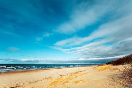 deserted: Deserted beach Stock Photo