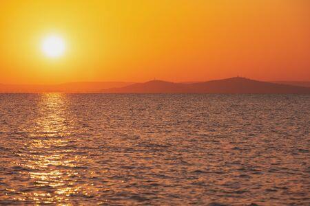 Sunrise over Lake Balaton, Hungary, Europe Zdjęcie Seryjne