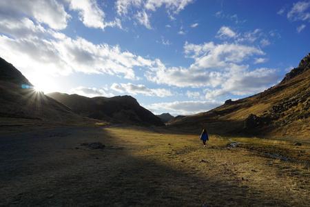 Romantic Mongolia Nature Background