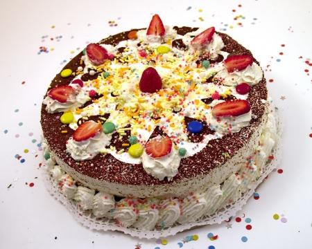 strowberry cake