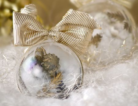 Christmas angel ornament against white decor close up soft focus