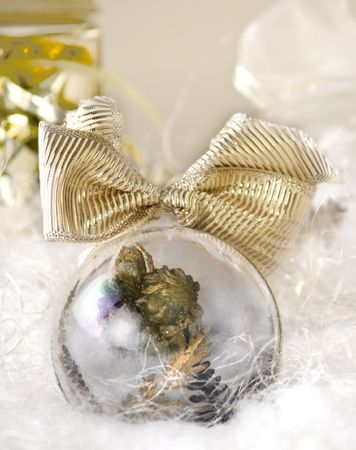 Christmas angel ornament against white decor, close up, soft fokus photo
