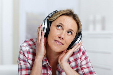 listening music Stock Photo - 8897211