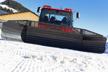 in front of snowplow photo