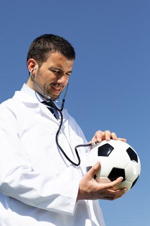football doctor Stock Photo - 9305742