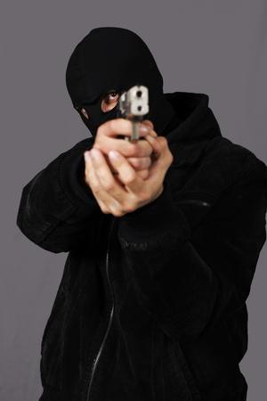 undercover: pistolero Archivio Fotografico
