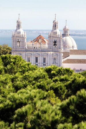 historica: Church of St. Vicent in Lisbon, Portugal