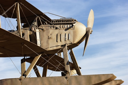 first plane: replica of the plane that first traveled the South Atlantic route Editorial