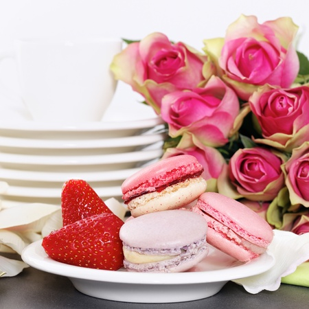Dessert on valentine photo