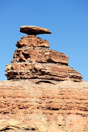 Image of the Mexican Hat Monument Stock Photo - 15820502
